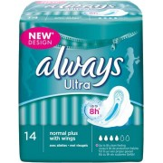 Always Ultra Bindor Normal Plus - 14 st.