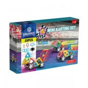 Joc Magnetic Educativ de Constructie 3D - Mini Karting Set