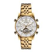 【85%OFF】230-H Air Professional gold silber ラウンド ウォッチ ゴールド/ホワイト ファッション > 腕時計~~メンズ 腕時計