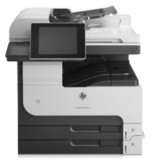 HP LaserJet Enterprise MFP M725dn, А3, монохромен лазерен принтер/копир/скенер, 1200 x 1200 dpi, 41/41 стр/мин, RADF, LAN 1000, USB, 1г.