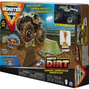 Auto Monster Jam + Nisip cinetic Deluxe (20103747)