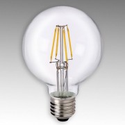 Sylvania E27 4W 827 LED Globe G80 čirá