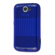 TPU Gel Case for HTC Wildfire G8 - HTC Soft Cover (Blue)