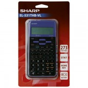 Kalkulator tehnički 102mjesta 273 funkcije Sharp EL-531TXHBVL ljubičasti blister 000036078