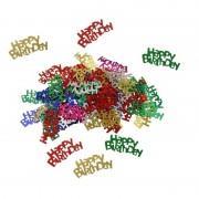 Haza Happy Birthday feest confetti 60 gram