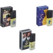 My Tune Combo Devdas-ILU-Titanic Perfume