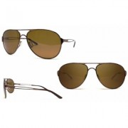 Men's Oakley Caveat Sunglasses In Gold Or Brunette OO4054-05 /Brunette /60MM/Brown Alphanumeric String, 20 Character Max