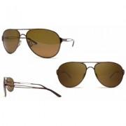 Men's Oakley Caveat Sunglasses In Gold Or Brunette OO4054-05 /Brunette /60MM/Brown Alphanumeric String, 20 Character Max Brunette