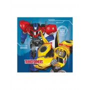 Vegaoo 20 servetter Transformers Robots in Disguise One-Size