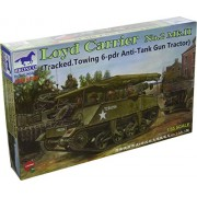 Bronco Models Loyd Carrier No.2 Mk.II Tracked Towing 6-PDR Anti-Tank Gun Tractor (1/35 Scale)