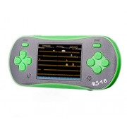Jjfun Plug & Play Video Games for Kids, Rs-16 Handheld Game Console, 2.5 12-Bit LCD Portable System Device, Kids Electronics Tv Controller with 260 Interesting Games-Green