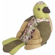 Opritor de usa textil verde Papagal 20x22h