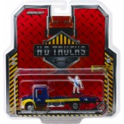 2013 International Durastar Flatbed - Michelin Service Center with Michelin Man Figure Solid Pack - H.D. Trucks Series 15 1 64