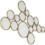 Kare Design Bubbles Spiegel - B138xH93 Cm - Messing Goud