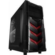 Carcasa Raidmax Vortex V4 Black-Red Fara sursa