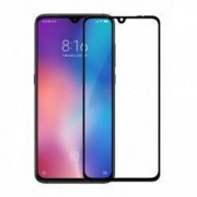 Folie sticla Case friendly Spigen Glass FC Xiaomi Mi9 Black