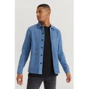 Studio Total Overshirt Favourite Twill Overshirt Blå