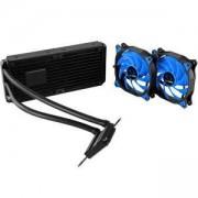 Водно охлаждане за процесор Raidmax Cobra Series 240, Compatible with Intel (LGA1150/1155/1156, 1366, 2011/ 2011-3), AMD (AM2/AM3, FM1/FM2), COBRA_240