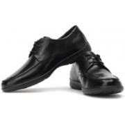 Clarks Un Lace Genuine Leather Lace Up Shoes For Men(Black)