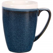 Churchill Monochrome Profile Mug Sapphire Blue 340ml (Pack of 12)