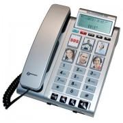 Téléphone amplifié Photophone 200 Argent