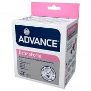 Advance DermaForte suplemento nutricional para perros - Pack % - 2 x 200 g (80 partículas)
