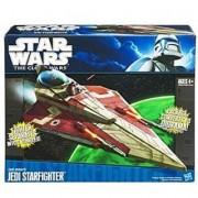 Star Wars The Clone Wars 2011 Vehicle Obi-Wan's Jedi Starfighter