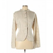 J.Jill Jacket: Tan Jackets & Outerwear - Size Large