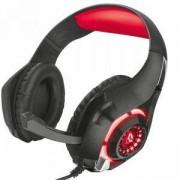 Слушалки TRUST GXT 313 Nero Illuminated Gaming Headset, 21601