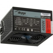 Sursa alimentare Akyga Ultimate ATX Power Supply 400W AK-U4-400 80+Bronze Fan12cm P8 4xSATA PCI-E