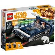 Set de constructie LEGO Star Wars Landspeederul lui Han Solo