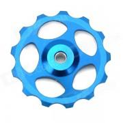 BH-01 aluminio aleacion Rear Derailleur guia polea rueda de la bici - azul