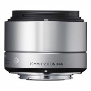 Sigma 19mm F2.8 DN Art Obiectiv pentru MFT Argintiu
