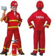Tűzoltó jelmez - 116-os méret - Jelmezek