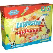 Set de joaca pentru copii Laboratorul exploziv Science4you, 28 experimente, 8 ani+