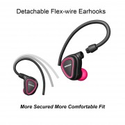 JABEES TRUE Wireless Fitness Earbuds Sports Bluetooth 4.1 In-ear Sweatproof Headphone(CE/RoHS/CCC/BQB) - Rose
