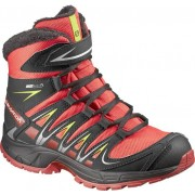 Salomon XAPro 3D Winter - scarpe da trekking - bambino - Red/Black