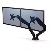 Fellowes - 8042501 Abrazadera/Atornillado Negro soporte de mesa para pantalla plana
