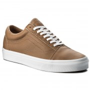 Гуменки VANS - Old Skool VN0A38G1R0S (Leather) Tawny Brown/True White