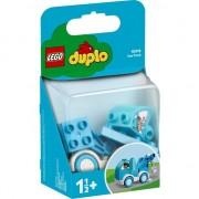 Set de constructie LEGO DUPLO® - Camion de tractare cu remorca, albastru, 1,5 ani+