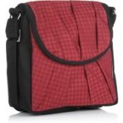 Home Heart Red, Black Sling Bag