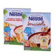 Nestle Pachet Promotional: Cereale Stracciatella 250 g + Mic dejun cu cereale si miere 250 g