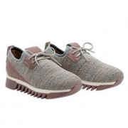 Alexander Smith knitted sneakers, 37 - paars-blauw