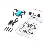 S9 2.4G Mini Plegable 360 Grados Drone Flip One-Key Volver RC Quadcopter Azul