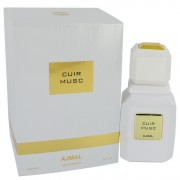 Ajmal Cuir Musc Eau De Parfum Spray (Unisex) 3.4 oz / 100.55 mL Men's Fragrances 542004