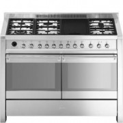 Smeg A4-8 - Opera 120cm Gas-electric Cooker Stainless Steel