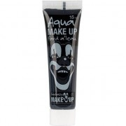 Geen Zwarte schmink horror make-up op waterbasis 15 ml