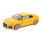 Kyosho LOOKSMART 1/43 Audi Sport quattro concept 2013 metallic yellow