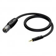 Procab REF714 jack 3.5mm male stereo - XLR male 3.00 meter