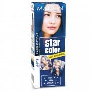 Marion Star Color smývatelná barva na vlasy Jeans, 2 x 35 ml - Marion